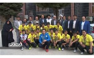 تیم دانش آموزان کهگیلویه وبویراحمد در ششمین دوره المپیاد آماده مقام اول کشور را کسب کرد
