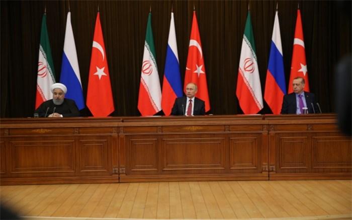 ایران روسیه و ترکیه