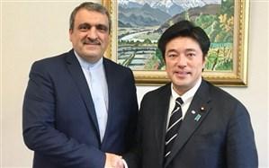 دیدار سفیر ایران با رئیس کمیته روابط خارجی مجلس نمایندگان ژاپن