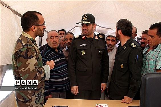 رزمایش سپاهیان محمد رسول الله  در قالب اعزام گروه های جهادی در آذربایجان شرقی