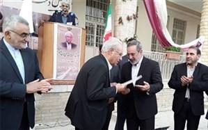 تجلیل وزیر آموزشوپرورش از خدمات فرهنگی و عمرانی رئیس مجمع خیران مدرسهساز