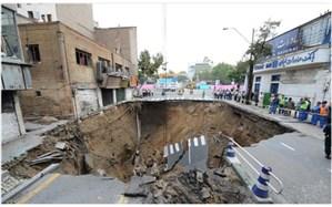 بیت الهی: فرونشست زمین ۳۰ درصد از پایتخت نشینان را تهدید می کند