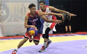 کاپ آسیایی بسکتبال 3 نفره؛ پسران ایران با برد حذف شدند