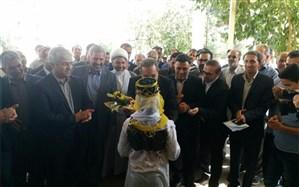 افتتاح یک مدرسه با حضور وزیر آموزش و پرورش در ایوانکی سمنان + تصویر