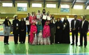 کسب سکوی قهرمانی مسابقات ژیمناستیک توسط دانش آموز شهرستان های استان تهران