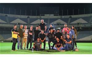 پایان «آبی به رنگ آسمان» در استادیوم آزادی