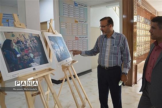 نمایشگاه روز جهانی سواد آموزی در اداره کل آموزش و پرورش استان بوشهر