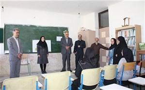 بازدید معاون آموزشی سازمان نهضت سواد آموزی کشوراز مراکز یادگیری محلی