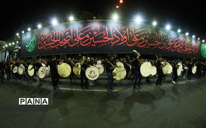 آغاز عزاداری های ماه محرم در خیابانهای تبریز