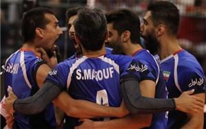 ایران میزبان والیبال انتخابی المپیک توکیو شد