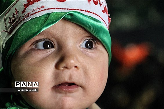 برگزاری مراسم شیرخوارگان حسینی در شهرستان بیرجند