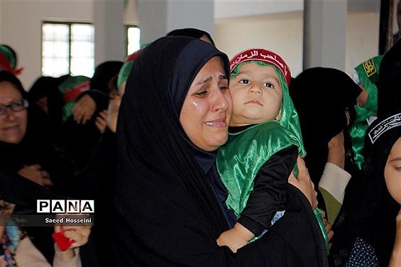 برگزاری همایش شیرخوارگان حسینی در شهرستان زیرکوه