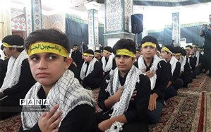 """شرکت یک هزار دانش آموز اهوازی در سوگواره """"احلی من العسل"""""""