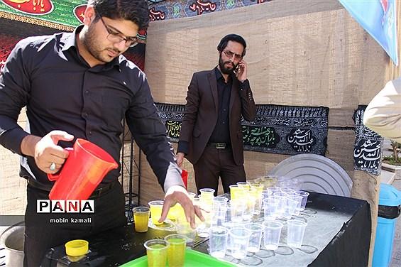 ایستگاه صلواتی دانشآموزان پیشتاز سیستان و بلوچستان