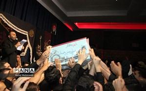 شهید گمنام فضای شهر قدس را معطر کرد