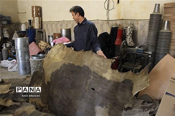 بزرگترین کارگاه ساخت دمام ایران در ایام محرم