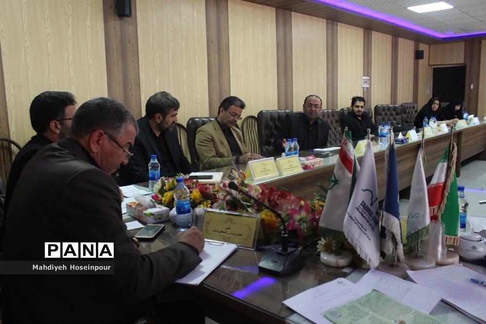 جلسه شورای برنامه ریزی سازمان دانش آموزی آذربایجان شرقی
