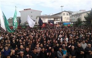 تجمع بزرگ حسینیان آستارا برگزار شد