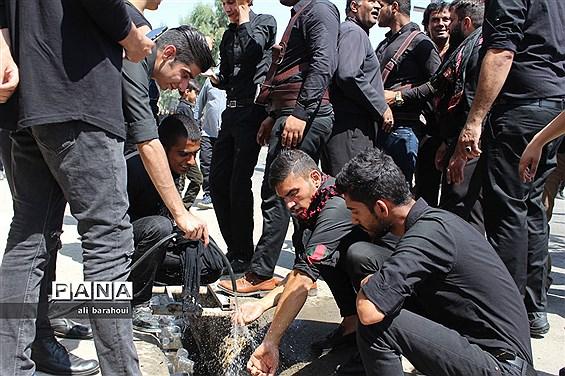 سوگواری عزاداران حسینی در زاهدان