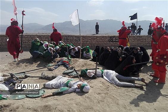 برگزاری واقعه عاشورادرحاجی آباد،شهرستان بیرجند