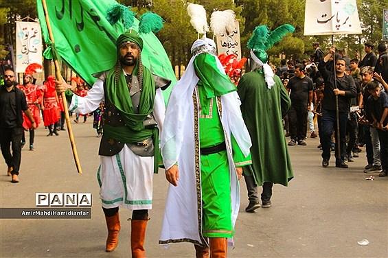 برگزاری نمایش شبیه خوانی در قتلگاه بیرجند