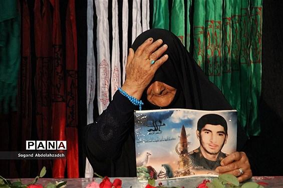وداع با پیکر شهید گمنام و هشتمین یادواره شهدای کوی ۲۲ بهمن در ساری