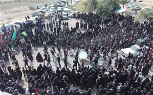 سوگواری تاسوعا و عاشورای حسینی در شهرک ناصرآباد