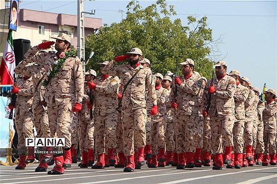 رژه نیروهای مسلح مازندران