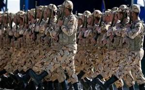 آیین رژه نیروهای مسلح در اردبیل برگزار شد
