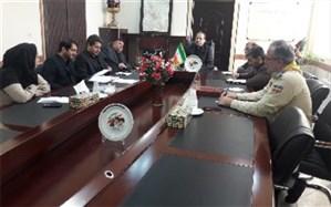 جلسه شورای برنامه ریزی سازمان دانش آموزی استان همدان برگزار شد