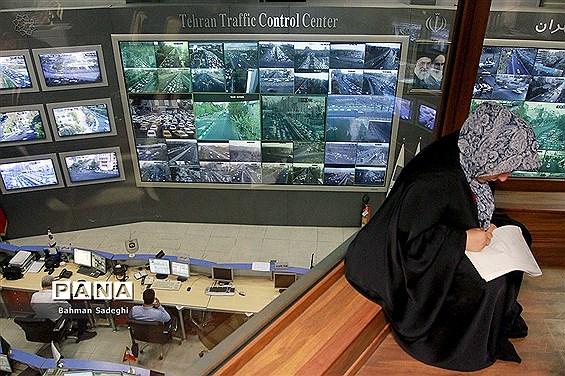 مرکز کنترل ترافیک اول مهر پایتخت