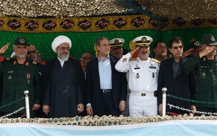 رژه نیروهای مسلح استان بوشهر