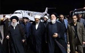 رئیس بنیاد شهید برای شرکت در مراسم تشییع شهدای حمله تروریستی وارد اهواز شد