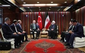 روحانی در دیدار با اردوغان: ایران و ترکیه همیشه در روزهای سخت کنار هم بودهاند