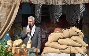 برگزاری آیین صبحگاه مشترک با حضور فرمانده هان سپاه ناحیه یاسر ، بسیج فرهنگیان و بسیج دانش آموزی  ناحیه 7 مشهد