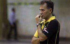 ناصر شهنازی: المپیک هر چهار سال برگزار میشود اما والیبال ایران هر سال مربی عوض میکند