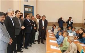 افتتاح مدرسه 21 کلاسه بانک جهانی در حاشیه شهر زاهدان