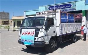 توزیع تجهیزات ورزشی در مدارس استان سیستان و بلوچستان همزمان با آغاز سال تحصیلی جدید