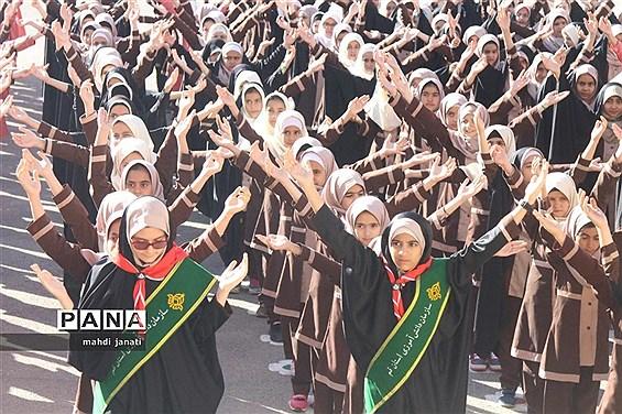 شروع بهار تحصیلی در مدارس پیشتازان استان قم