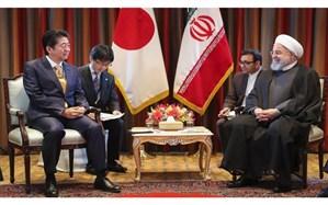 رایزنی رئیس جمهور کشورمان و نخست وزیر ژاپن درباره مسایل دوجانبه، منطقه ای و بین المللی