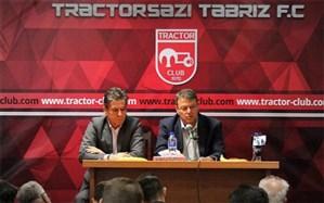 مدیرعامل باشگاه تراکتورسازی: توشاک از تراکتور اخراج نشد