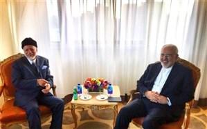 رایزنی ظریف و یوسف بنعلوی در مورد آخرین تحولات عراق و یمن