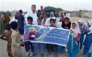 توزیع پنج هزار بسته آموزشی در چابهار و نیکشهر