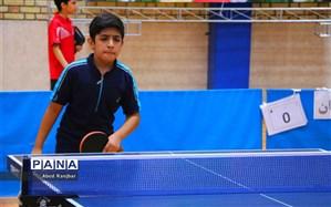تیم قم قهرمان مسابقات تیمی تنیس روی میز دانش آموزان کشور شد