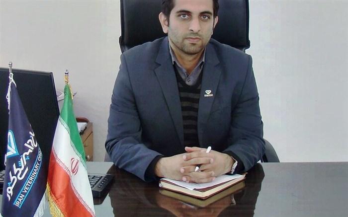 رییس شبکه دامپزشکی شهرستان  سرایان