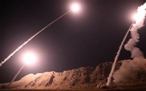 حمله موشکی سپاه پاسداران به پایگاههای نظامی آمریکا در عراق+ویدئو