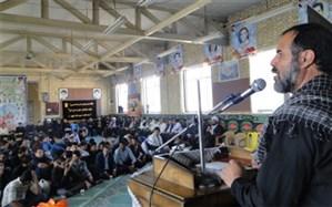 یادواره شهدای دانش آموزی منطقه جرقویه سفلی برگزار شد
