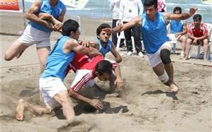قضاوت داور شیرازی در مسابقات کبدی جوانان جهان