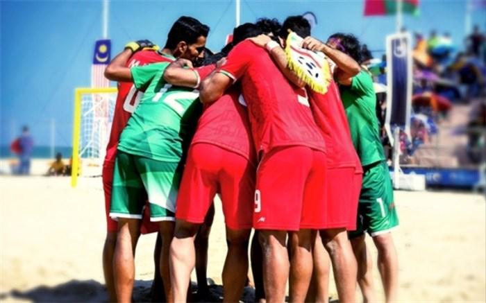 تیم ملی فوتبال ساحلی ایران 2018