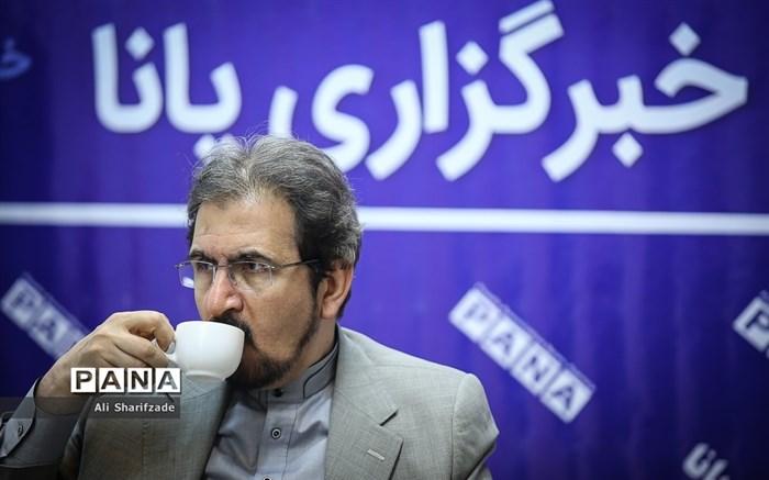 حضور سخنگوی وزارت امورخارجه در خبرگزاری پانا